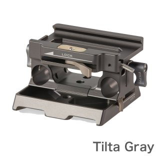 TILTA BMPCC4K用 15mm LWSベースプレート Tilta Gray (TA-BSP-15)