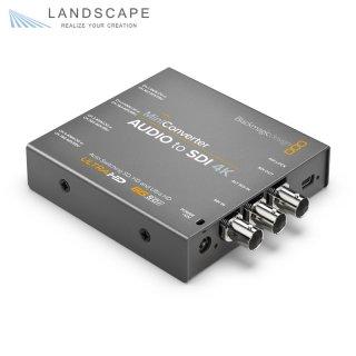 Blackmagic Design Mini Converter Audio to SDI 4K〔CONVMCAUDS4K〕