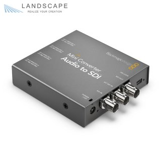 Blackmagic Design Mini Converter Audio to SDI〔CONVMCAUDS2〕