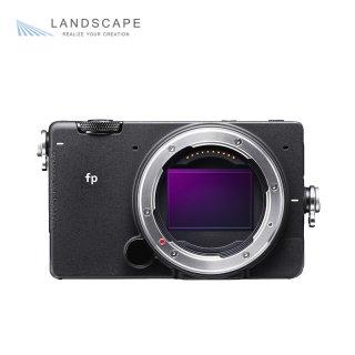 SIGMA fp フルサイズ ミラーレス Lマウント シネマカメラ シグマfp