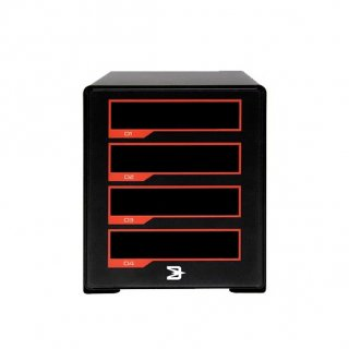 Blackjet TX-4DS<br>Thunderbolt 3<br>4-Bay Cinema Dock w/DX-1M