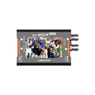 LUMANTEK HDMI to SDI コンバーター ディスプレイ、スケーラー付き (ez-HSV+)