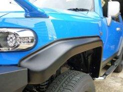 トップランカーオリジナル FJクルーザー 1incワイド オーバーフェンダー タイプ�