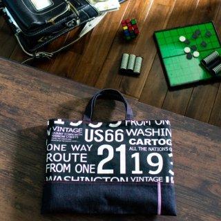ハンサムBLACKのレッスンバッグ