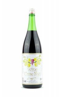 うめ酒ワイン 【赤】 1.8L