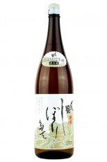 〆張鶴 本醸造 しぼりたて生原酒 1.8L (しめはりつる)