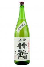 竹鶴 純米 合鴨農法米1.8L (たけつる)