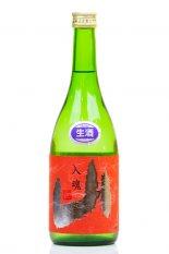 亀齢 純米 入魂 山 赤ラベル 生原酒 720ml (きれい)