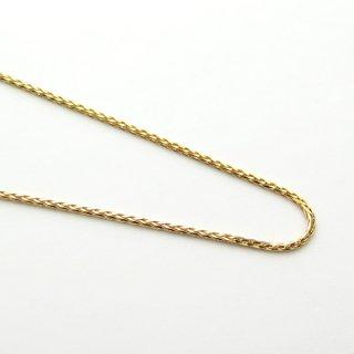 K18イエローゴールド スパイクブレスレット 18cm 1.0mm
