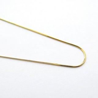 K18イエローゴールド ティラブレスレット 18cm 0.6mm