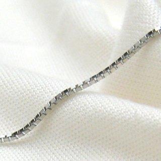 K18ホワイトゴールド ベネチアンブレスレット 18cm 1.0mm