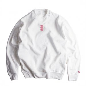 <img class='new_mark_img1' src='https://img.shop-pro.jp/img/new/icons50.gif' style='border:none;display:inline;margin:0px;padding:0px;width:auto;' />LOS ANGELES APPAREL×YES TOKYO 14oz HEAVY FLEECE CREWNECK PULLOVER SWEATSHIRT (WHITE)