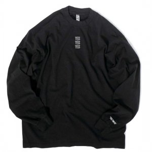 <img class='new_mark_img1' src='https://img.shop-pro.jp/img/new/icons50.gif' style='border:none;display:inline;margin:0px;padding:0px;width:auto;' />LOS ANGELES APPAREL×YES TOKYO 6.5oz L/S Garment Dye Crew Neck T-Shirt (BLACK)
