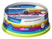 Verbatim DTR85HP25V1 ワイド (25枚X10P 250枚セット)1枚単価¥105(税抜)