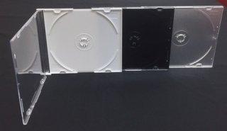 ジュエルケース スリム5.2mmシングル1枚用 税別1枚単価¥18円 (200枚セット)