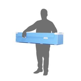 【短納期・1ケース】廃蛍光灯回収ケース・小・折畳型