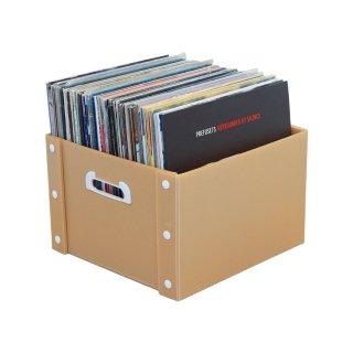 【3個1set】 組み立て式 レコードケース 【LP盤約70枚収納可能】
