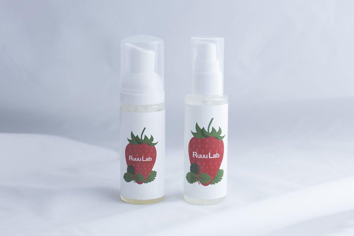 Ruuu Lab クレンジングオイル&洗顔フォームセットミニ【雑誌掲載商品】