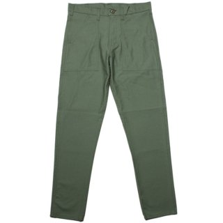 <img class='new_mark_img1' src='https://img.shop-pro.jp/img/new/icons47.gif' style='border:none;display:inline;margin:0px;padding:0px;width:auto;' /> GUNG HO 4 POCKET FATIGUE PANT TAPERED SLIM FIT (1101P SL) MADE IN USA