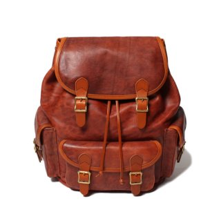 <img class='new_mark_img1' src='https://img.shop-pro.jp/img/new/icons24.gif' style='border:none;display:inline;margin:0px;padding:0px;width:auto;' />SLOW Vintage Horse Ruck Sack Red Brown