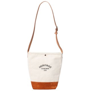 <img class='new_mark_img1' src='https://img.shop-pro.jp/img/new/icons20.gif' style='border:none;display:inline;margin:0px;padding:0px;width:auto;' />HERITAGE LEATHER SUEDE BOTTOM BUCKET SHOULDER BAG NATURAL/TOAST BROWN 8661