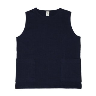 <img class='new_mark_img1' src='https://img.shop-pro.jp/img/new/icons47.gif' style='border:none;display:inline;margin:0px;padding:0px;width:auto;' />Jackman Dotsume Pull Vest Navy