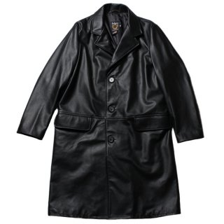 <img class='new_mark_img1' src='https://img.shop-pro.jp/img/new/icons14.gif' style='border:none;display:inline;margin:0px;padding:0px;width:auto;' />Schott 568US LEATHER CHESTER COAT BLACK