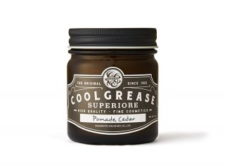 <img class='new_mark_img1' src='https://img.shop-pro.jp/img/new/icons25.gif' style='border:none;display:inline;margin:0px;padding:0px;width:auto;' /> COOL GREASE SUPERIORE - POMADE - CEDAR (220g)