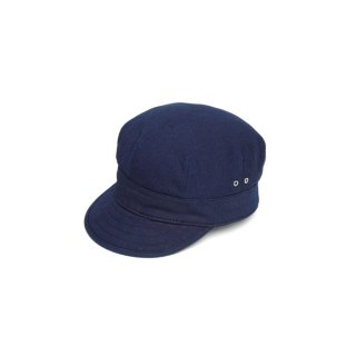 <img class='new_mark_img1' src='https://img.shop-pro.jp/img/new/icons14.gif' style='border:none;display:inline;margin:0px;padding:0px;width:auto;' />STEVENSON OVERALL CO. Patrol Cap Indigo