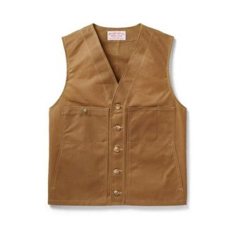 <img class='new_mark_img1' src='https://img.shop-pro.jp/img/new/icons14.gif' style='border:none;display:inline;margin:0px;padding:0px;width:auto;' />FILSON OIL TIN CLOTH VEST フィルソン オイル ティンクロス ベスト 【送料無料】
