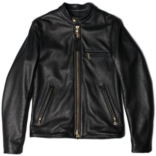 <img class='new_mark_img1' src='https://img.shop-pro.jp/img/new/icons47.gif' style='border:none;display:inline;margin:0px;padding:0px;width:auto;' /> VANSON B - SOFT COW LEATHER SLIM FITTED - BLACK
