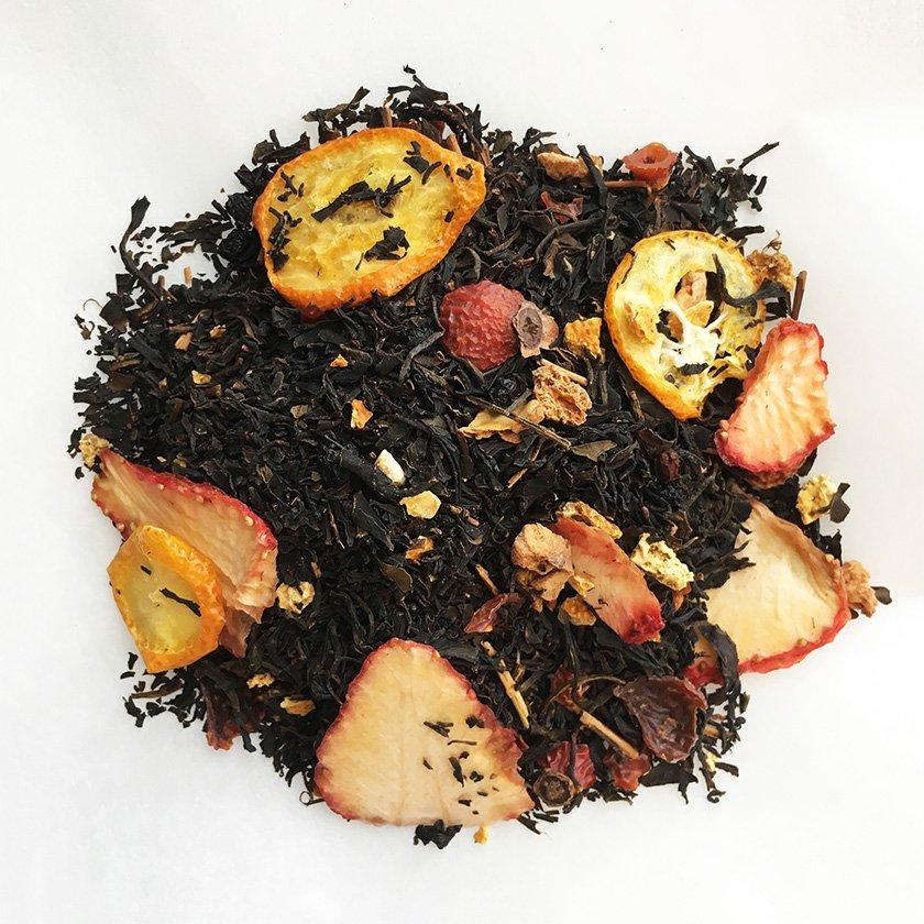 4種の果実 とハーブのとろ甘和紅茶 20g《スープのようなごちそう茶》