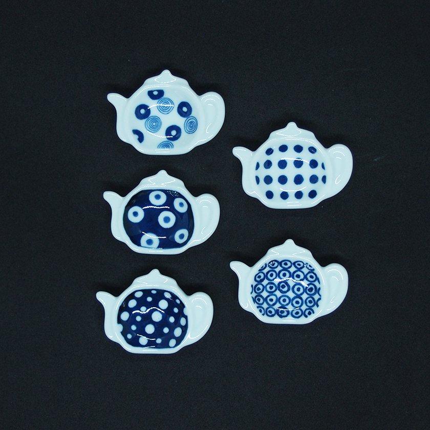 【indigo Japan】藍丸紋 ポット型レスト