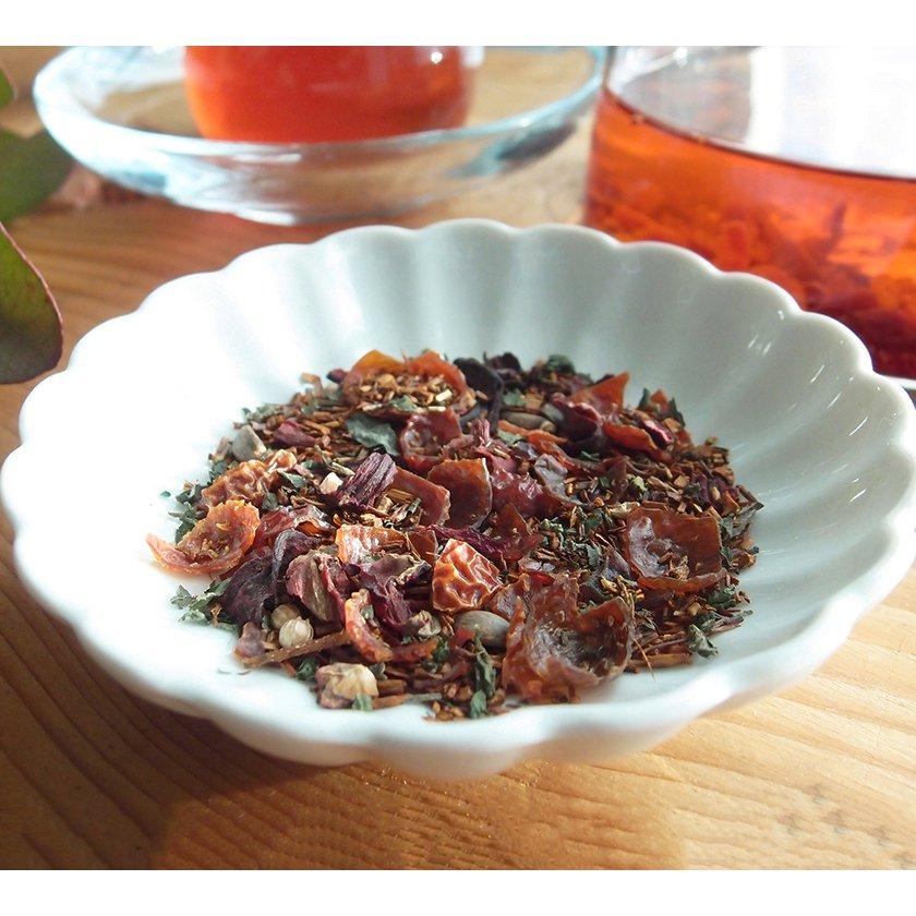巡りのスープ 赤い実とルイボスのお茶 30g《スープのようなごちそう茶》