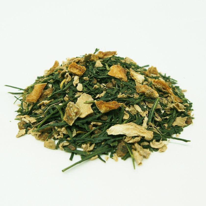 ゆず生姜緑茶 30g《スープのようなごちそう茶》