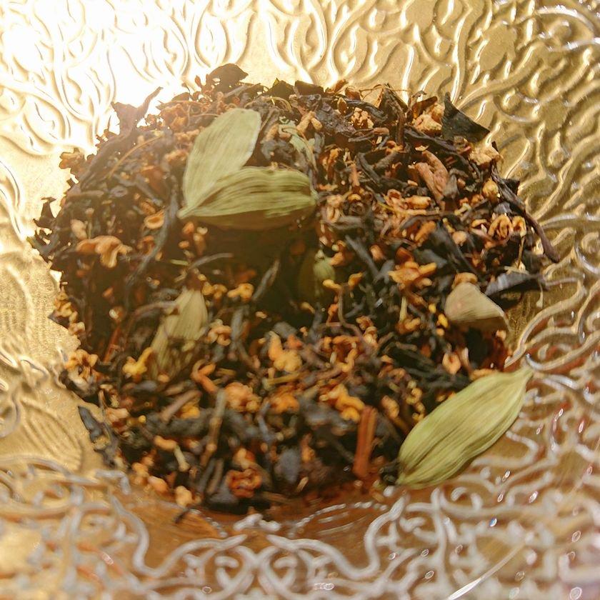 キンモクセイとカルダモンの和紅茶(100g・40g・10g)