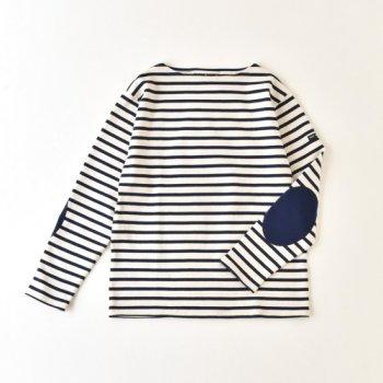 SAINT JAMES 13JC OUES.COUD  OUES.COUD エルボーパッチバスクシャツ(UNISEX)