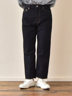 TEXTURE WE MADE CTX-012L 12oz CROPPED JEANS(UNISEX)
