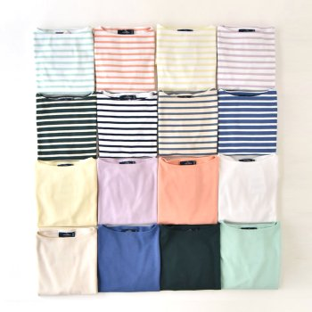 SAINT JAMES OUESSANT バスクシャツ(UNISEX)