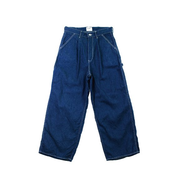 <img class='new_mark_img1' src='https://img.shop-pro.jp/img/new/icons6.gif' style='border:none;display:inline;margin:0px;padding:0px;width:auto;' />【H-PT021】Work denim crownsize painter pants
