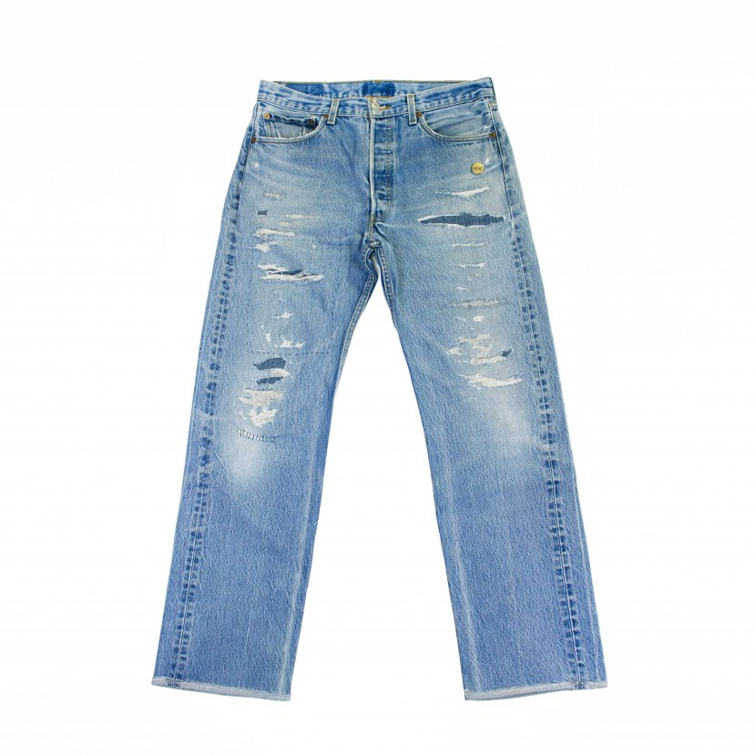 【H.M-010】〈34-6〉H.M Custom the 501 middle