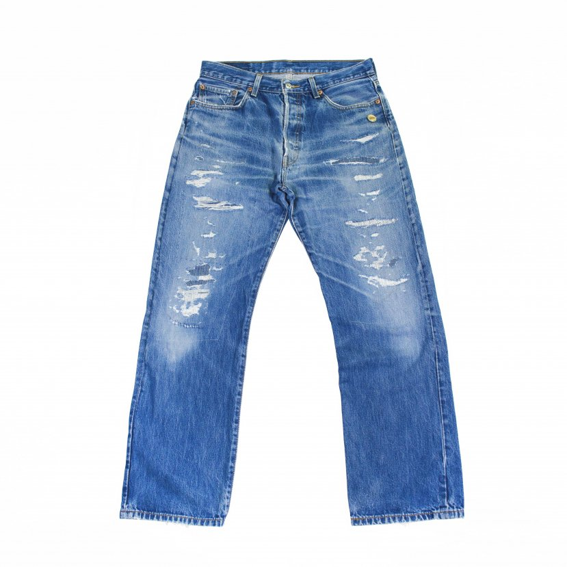 【H.M-010】〈34-5〉H.M Custom the 501 middle