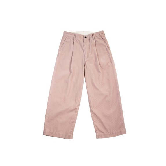 【H-PT027】Corduroy crownsize trousers