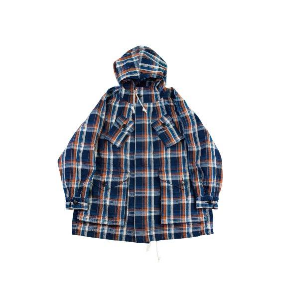 【H-CT012】Twill check combat coat