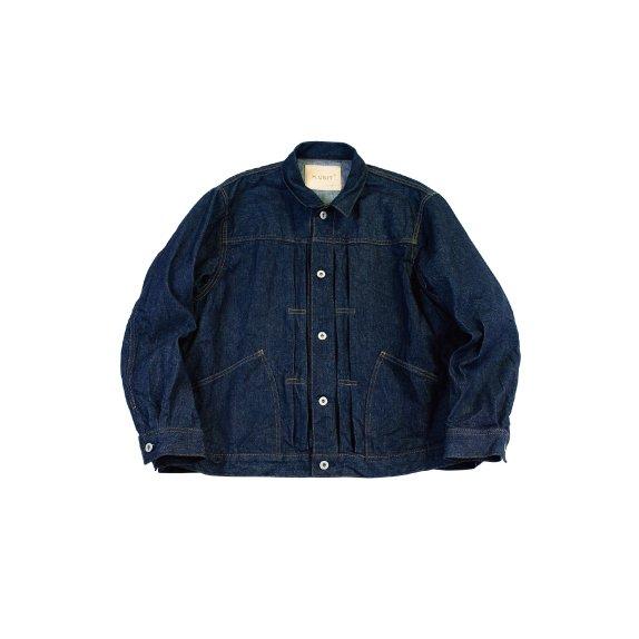 【H-JK015】Left hand denim work jacket