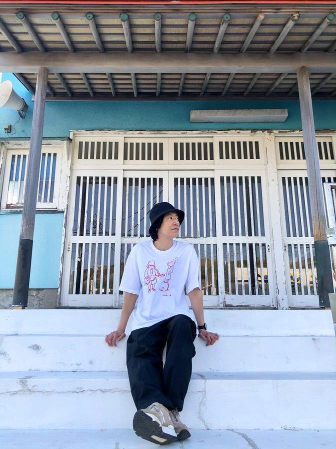 【H-HASP001】ATSUSHI HORIE Collabo Tee