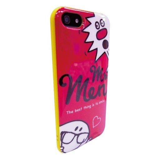 MR.MEN iPhone5/5s対応 ラウンドソフトジャケット(ピンク) MML-42B MM