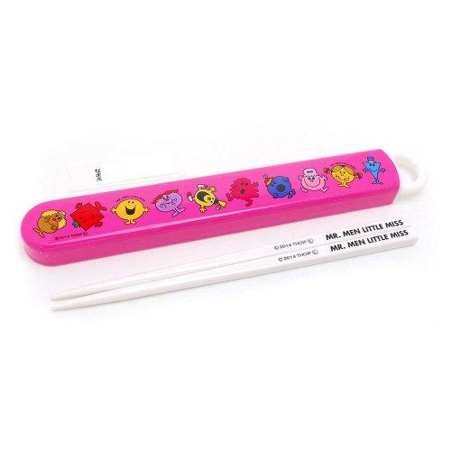 MR.MEN 食洗機スライド箸&箸箱セット(ピンク) ABS2A MM}>