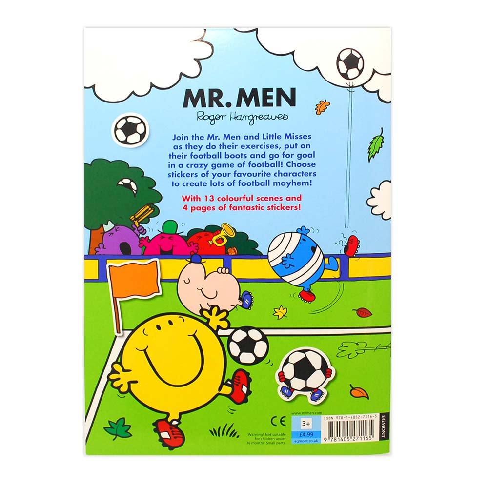 MR.MEN 【英語のえほん】Mr.Men Football Sticker Scene  MM