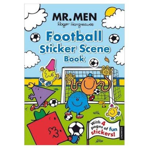 MR.MEN 【英語のえほん】Mr.Men Football Sticker Scene  MM}>